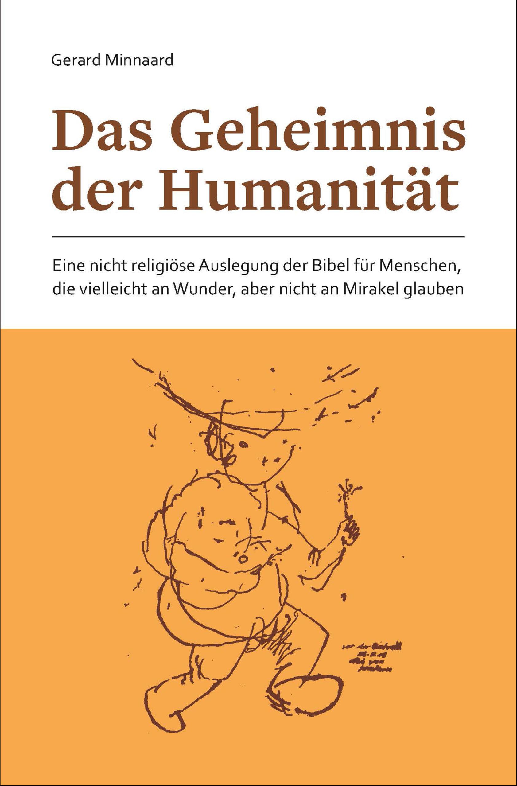 """Buchcover """"Das Geheimnis der Humanität"""""""
