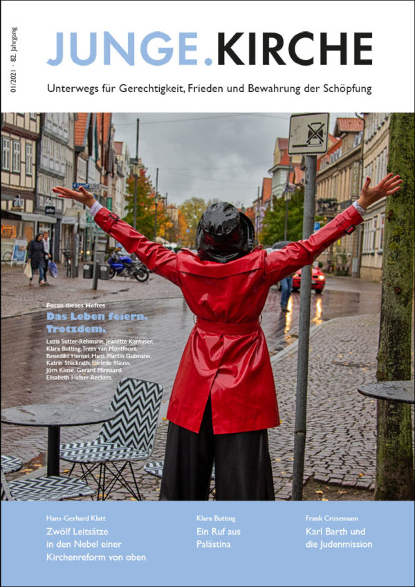 Cover Magazin Junge.Kirche 1/2021