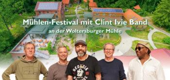 Mühlenfestival mit Clint Ivie