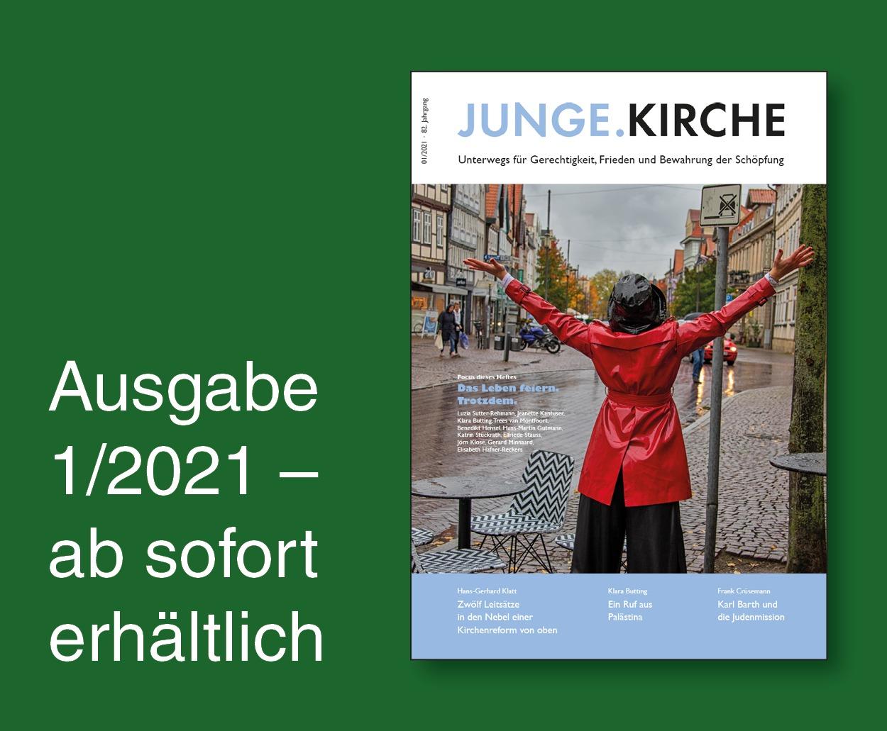 Magazin Junge.Kirche 1/2021